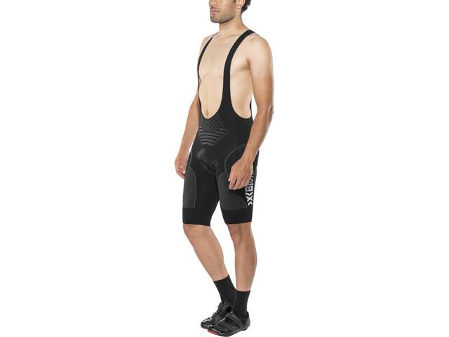 X-Bionic Biking Twyce Endurance - Culotte con tirantes Hombre - gris/negro